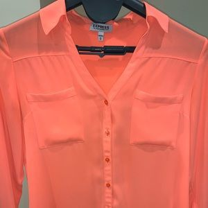 Express Portofino Shirt neon orange